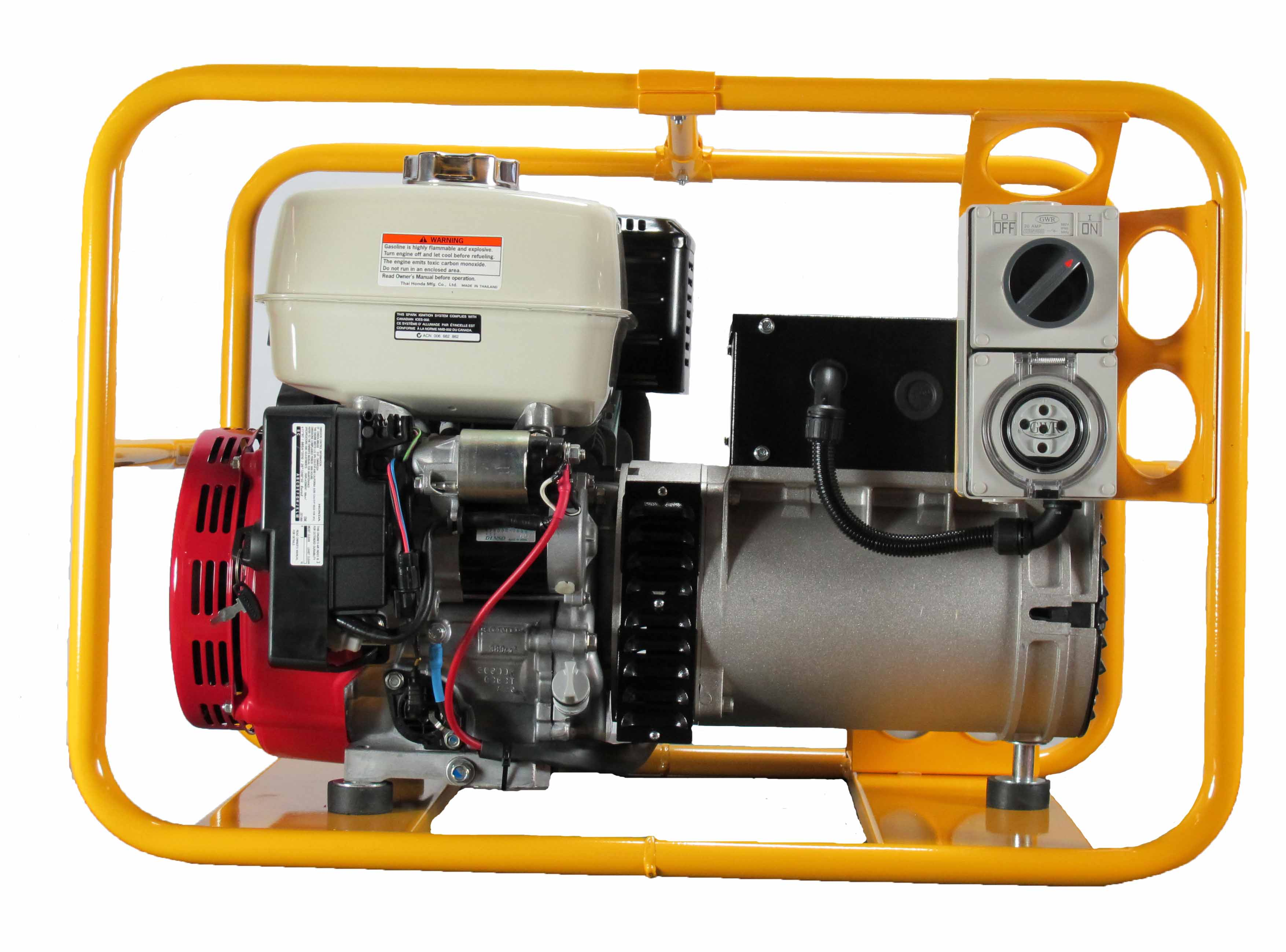 PH080E 3 – 7 000W Generator with battery