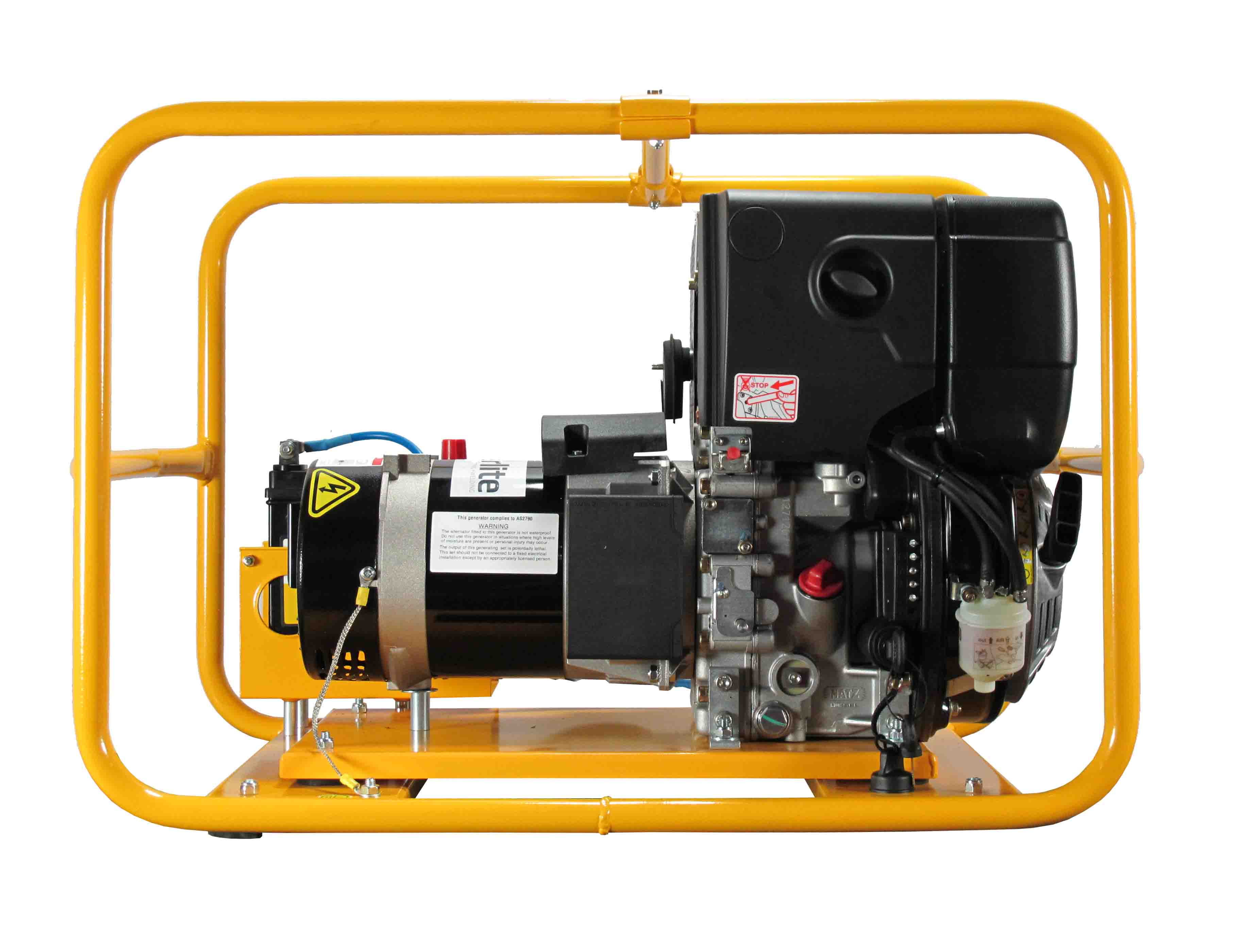Phzd050e 4 000w Generator With Battery Powerlite Power