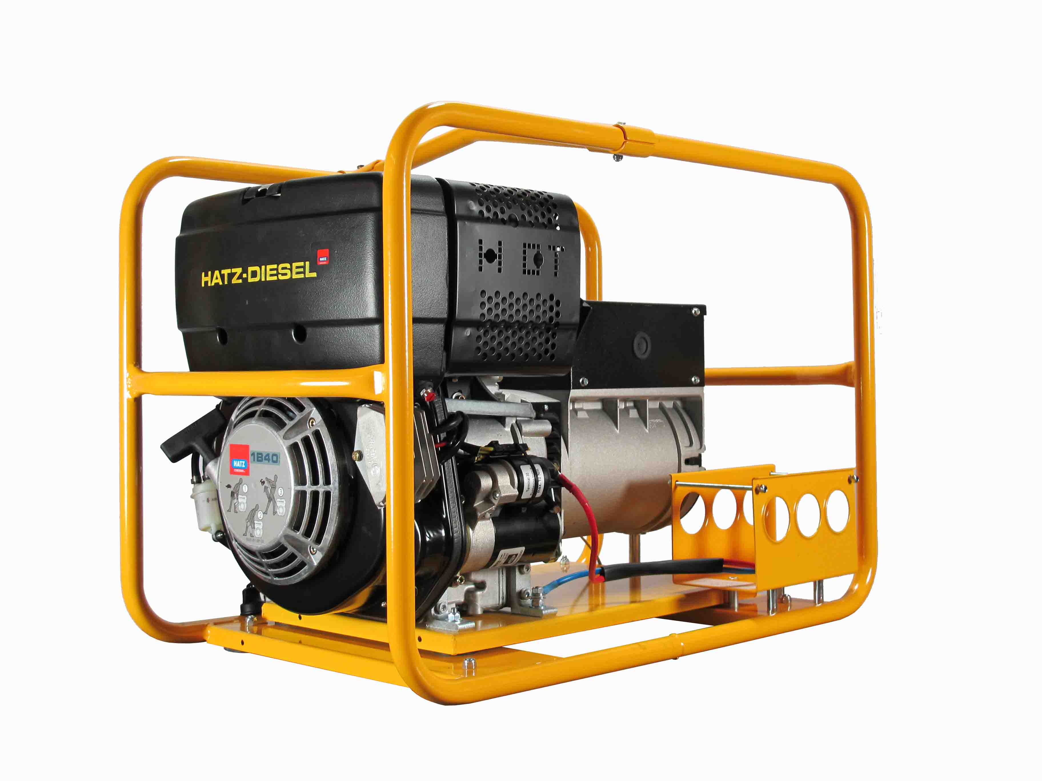 PHZD070E 3 – 5 500W 3 phase Generator with battery