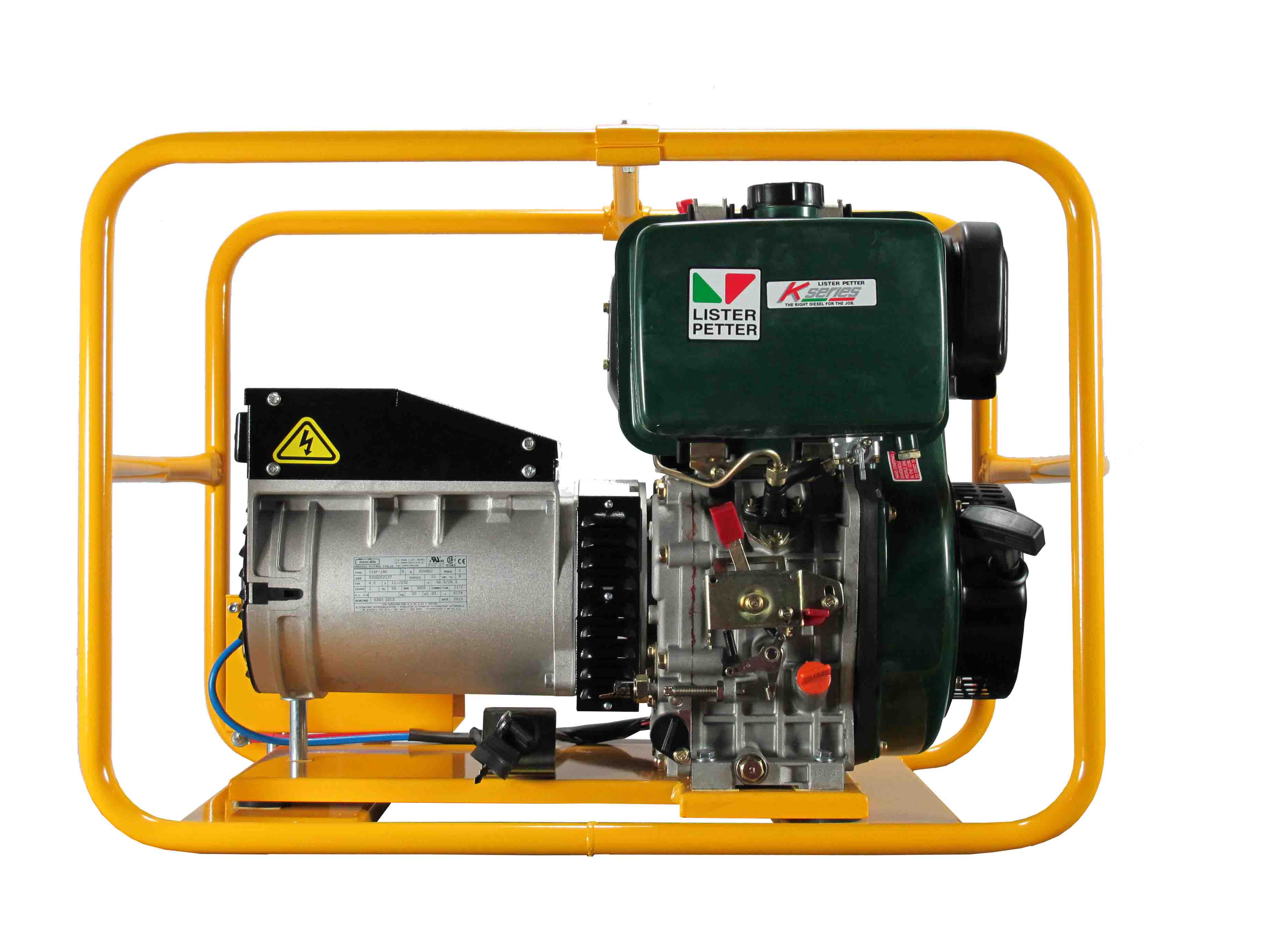 PLD070E – 6 000W Generator with battery