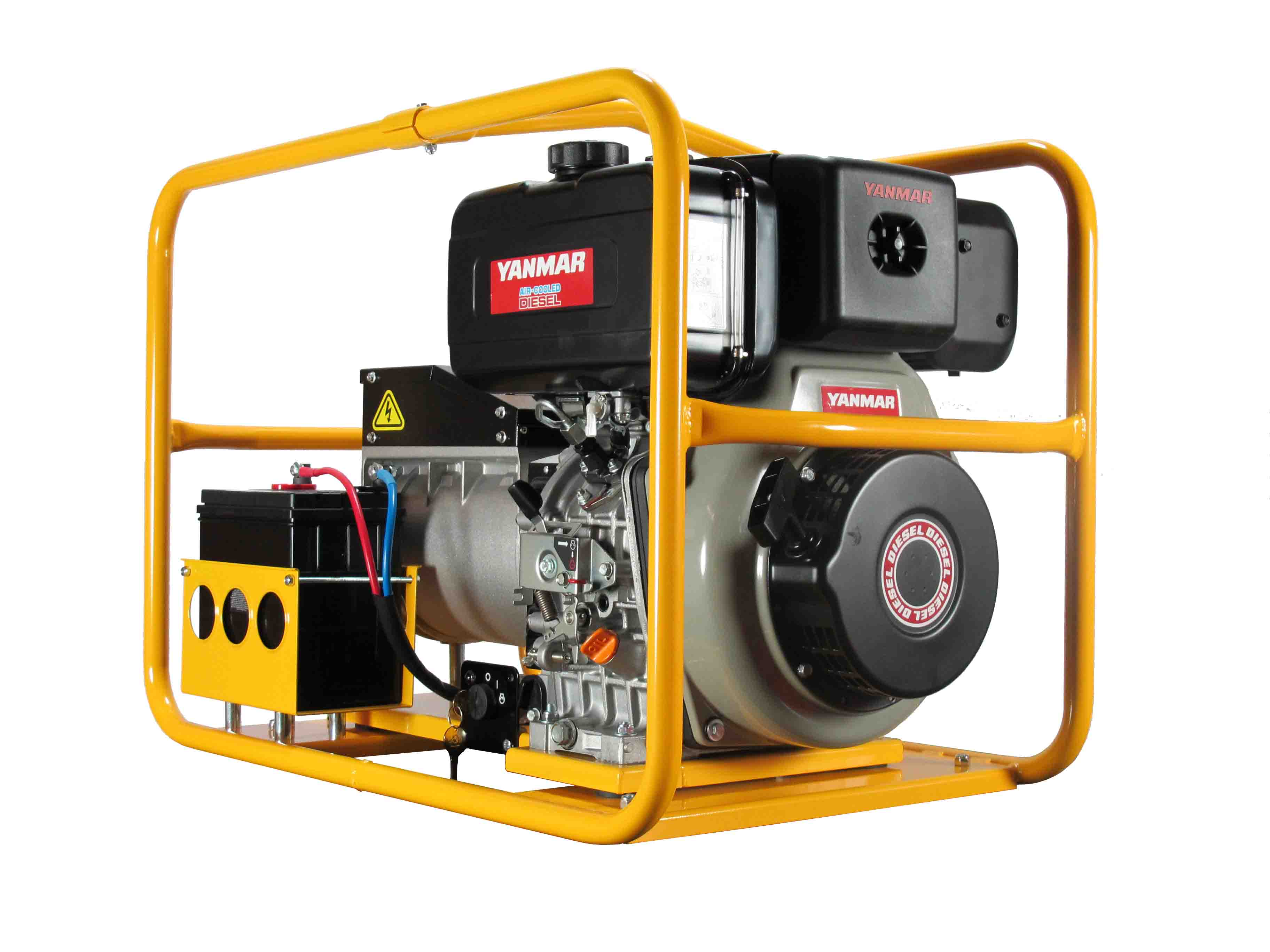 PYD070E – 6 000W Generator with battery