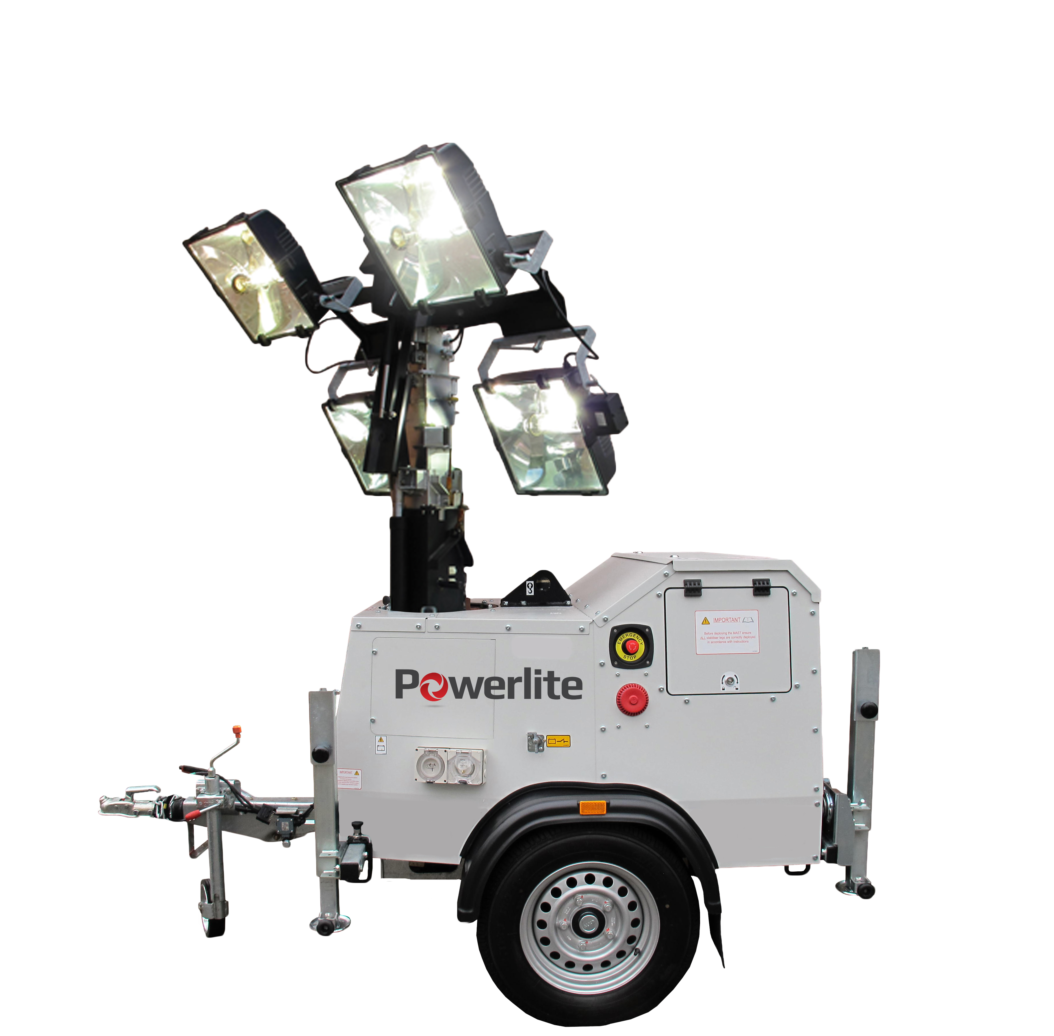 Metal Halide Lighting Tower