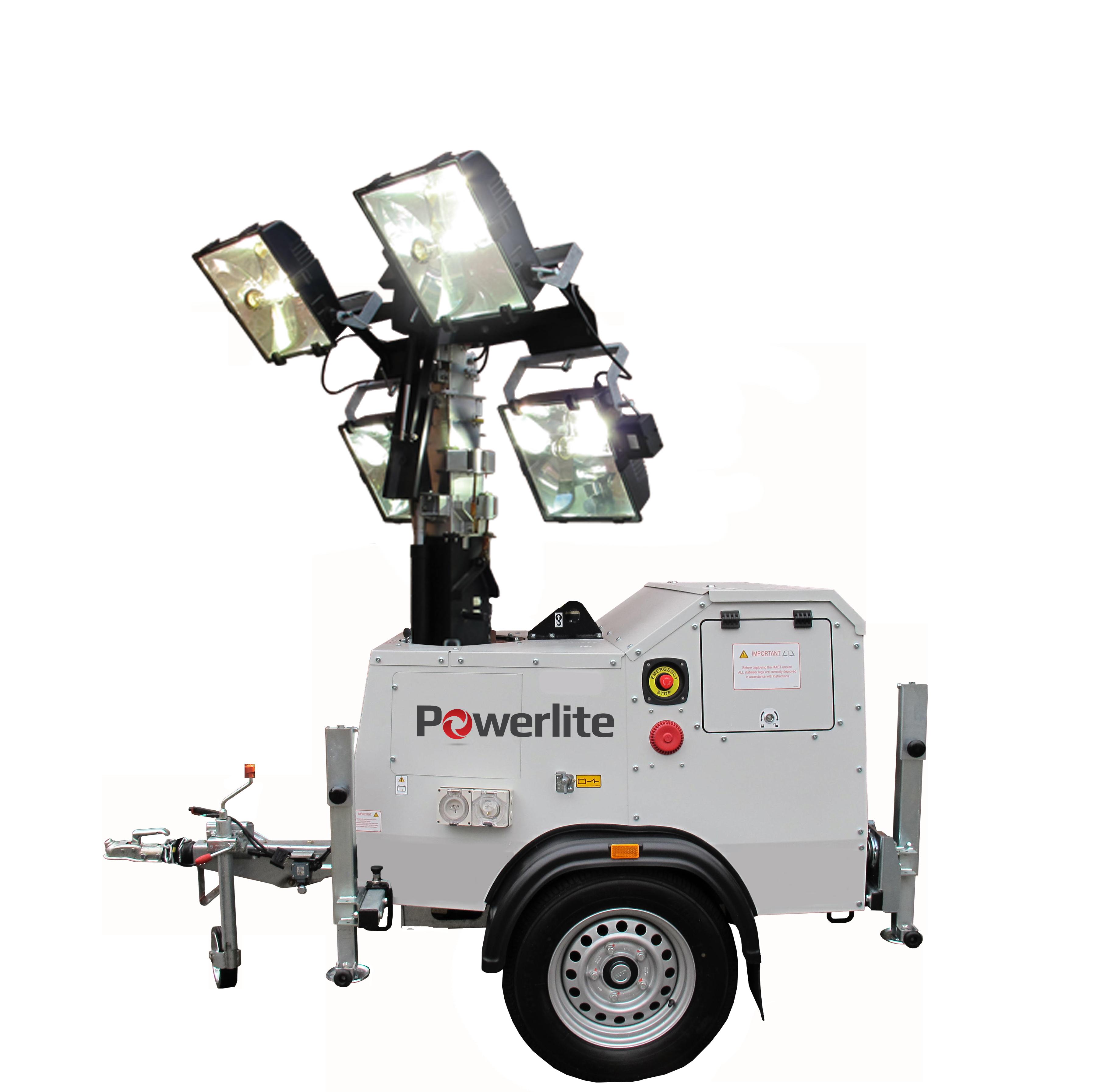 Metal Halide Lighting Tower Powerlite Power Generators