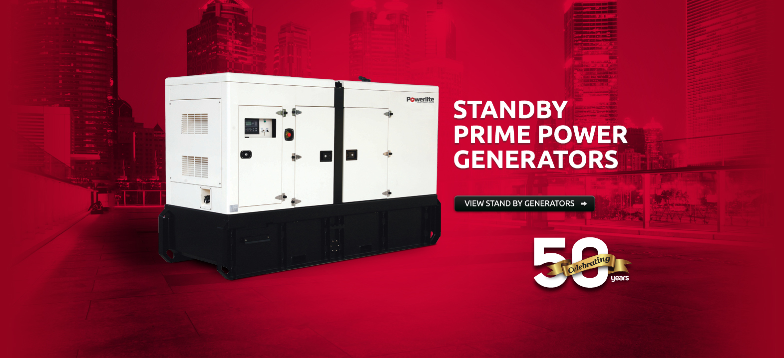Stand By Prime Power Generators